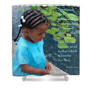 Walk In The Park Shower Curtain