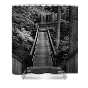 Walk Into Nature Shower Curtain