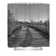 Walk This Way... Shower Curtain