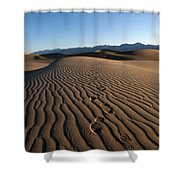 Walk This Way. No. This Way.  Shower Curtain