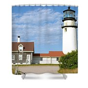 Walk To The Lighthouse Shower Curtain