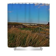 Walk To Wall Shower Curtain