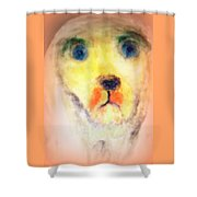 walk the walk with me or I will be staring at you forever  Shower Curtain