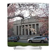 Walker Memorial Early Spring Shower Curtain