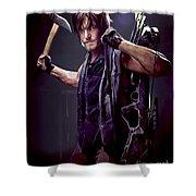Walking Dead - Daryl Dixon Shower Curtain