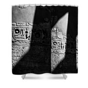 Walking In The Steps Of The Gods.. Shower Curtain