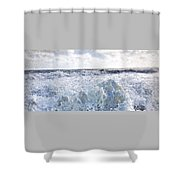 Walking On Water I Shower Curtain by Kevyn Bashore
