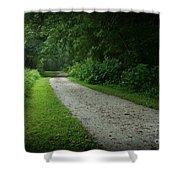 Walking Path Shower Curtain