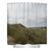 Walking The Dunes Shower Curtain
