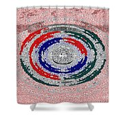 Walking The Streets Of Life Shower Curtain