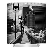 Walking To Knoxville Shower Curtain