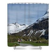 Walking Toward The Sky Shower Curtain