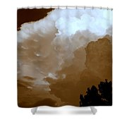 Wall Cloud  Shower Curtain