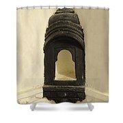 Wall Niche Shelf Udaipur City Palace India Shower Curtain