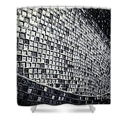 Wall No.22 Shower Curtain
