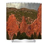 Wall Of The Gods Shower Curtain