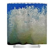 Wall Of Water 6 10/1 Shower Curtain