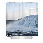 Wall Of Water Shower Curtain