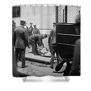 Wall Street Bombing, 1920 Shower Curtain