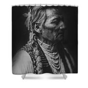 Walla Walla Indian Circa 1905 Shower Curtain