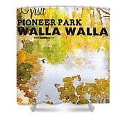 Walla Walla Shower Curtain