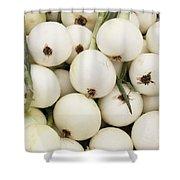 Walla Walla Sweet Onions Shower Curtain