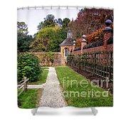 Walled Garden Shower Curtain