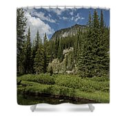 Wallowas - No. 1 Shower Curtain