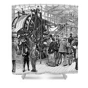Wallpaper Printing, 1876 Shower Curtain