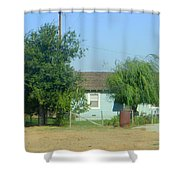 Walnut Grove - Typical Rural Farm House Shower Curtain
