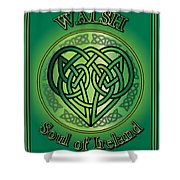 Walsh Soul Of Ireland Shower Curtain
