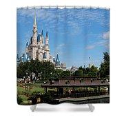 Walt Disney World Orlando Shower Curtain