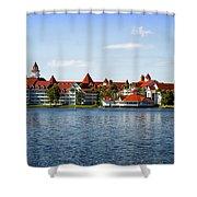 Walt Disney World Resort Shower Curtain