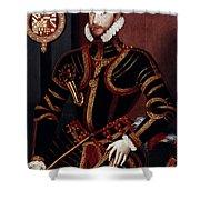 Walter Devereux (1541-1576) Shower Curtain