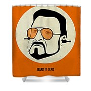 Walter Sobchak Poster Shower Curtain