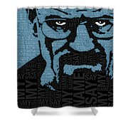 Walter White Heisenberg Breaking Bad Shower Curtain