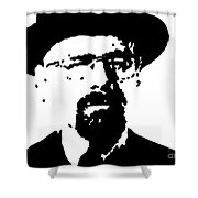 Walter White Shower Curtain