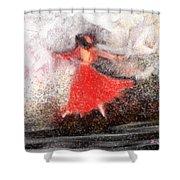 Waltz Shower Curtain