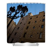 Wandering Around The Streets Of Barcelona Spain Shower Curtain
