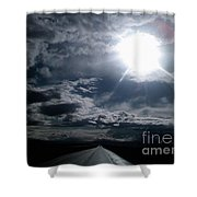 Wanderlust Shower Curtain by Edward Fuller