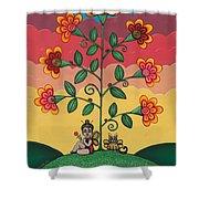 Wannabees Shower Curtain