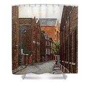 Wapping High Street East London Shower Curtain