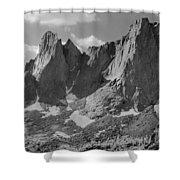 109646-war Bonnet And Warrior 1, Wind Rivers Shower Curtain