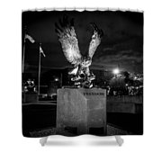 War Memorial Shower Curtain