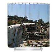 War Of The Worlds - Universal Studios Shower Curtain