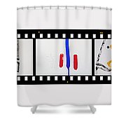 War Painting Shower Curtain