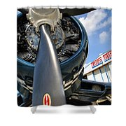 Warbird Museum Shower Curtain