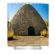 Ward Charcoal Oven Shower Curtain