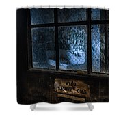 Ward Personnel Only Shower Curtain by Gary Heller