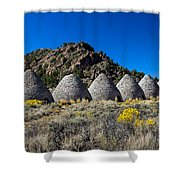 Wards Charcoal Ovens Shower Curtain by Robert Bales